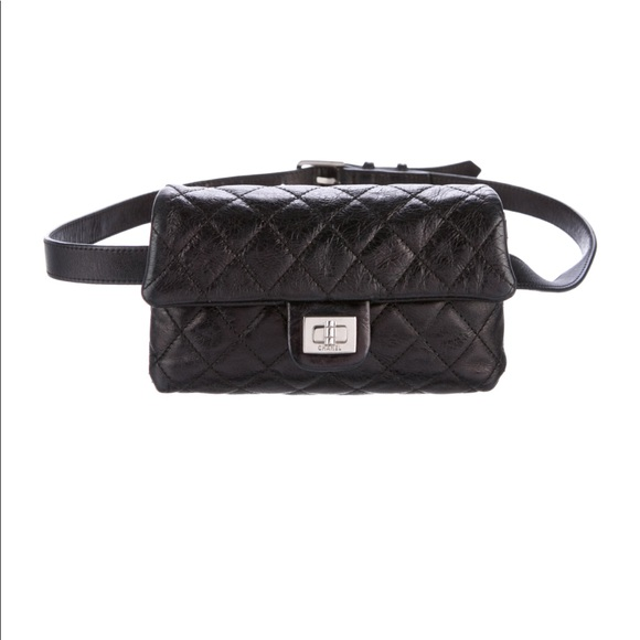 c941376b9462 CHANEL Handbags - CHANEL Black Quilted Caviar Reissue Waist Bag